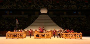Comienza la ceremonia de apertura de los Juegos Olímpicos de Tokio 2020