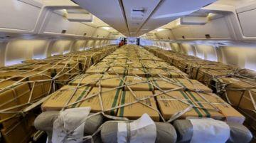 Llegan a Bolivia 500 mil dosis de Sinopharm y 1.700 cajas de propofol