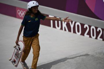 """Rayssa Leal, la joven skater convertida en """"pequeña hada"""" de Brasil"""