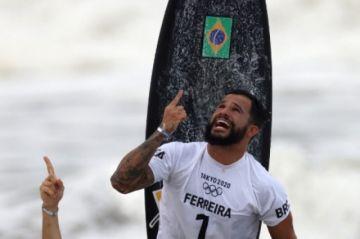 El surf corona al brasileño Italo Ferreira como su primer rey olímpico