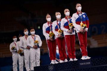 Rusia conquista el oro en gimnasia a costa de EEUU, mermado por la baja de Biles
