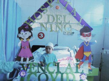 Un bebé de nueve meses venció al covid-19 tras una semana hospitalizado en Sucre