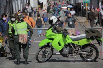 Policía habilita línea móvil para recibir denuncias de infracciones de tránsito en Chuquisaca