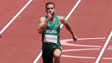 Tokio 2020: Rojas cierra su carrera deportiva con el puesto 5 en la serie previa de los 100 metros