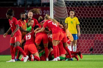 Brasil se queda en cuartos y Estados Unidos avanza a semifinales del fútbol femenino