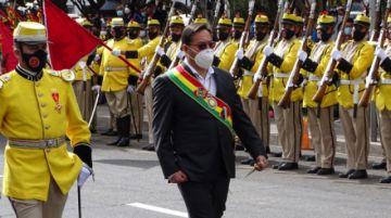 """Gobierno ratifica que Arce no estará el 6 de Agosto en Sucre y pide """"no generar enfrentamientos"""""""