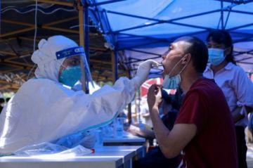 Millones de confinados en China por la variante delta del coronavirus