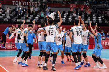 Épica victoria de Argentina ante Italia para meterse en semis del vóley