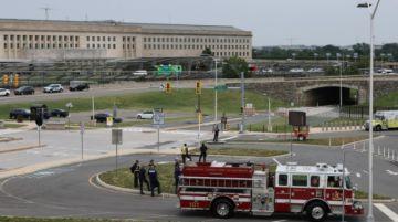 El Pentágono fue puesto brevemente en alerta por disparos en la zona