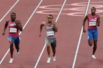Andre De Grasse sucede a Bolt como campeón olímpico de 200 metros