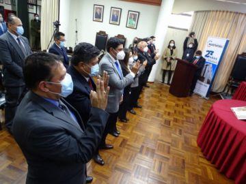 Consejo de la Magistratura renueva representantes distritales en Bolivia