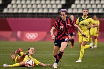 Rapinoe y Lloyd ganan el bronce para Estados Unidos ante Australia en Tokio 2020