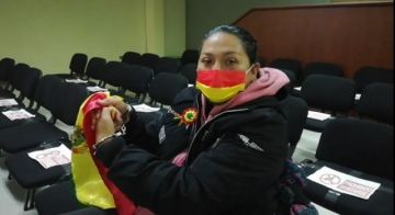 Juez otorga detención domiciliaria a Milena Soto de la Resistencia Cochala