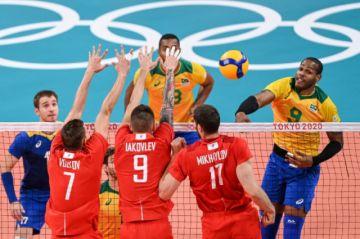 Brasil queda fuera de la final olímpica del voleibol por primera vez desde 2000