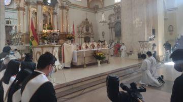 6 de Agosto: Iglesia católica pide apostar por una Bolivia más optimista