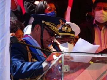 Comandante en Jefe de las FFAA pide a camaradas mantener la unidad y respetar la Constitución