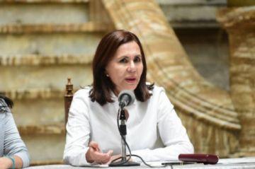 Fiscalía de La Paz cita a Karen Longaric en calidad de sindicada por un caso de incumplimiento de deberes