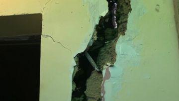 Desalojan viviendas de un barrio de La Paz por riesgo de derrumbe