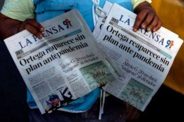 """El único diario impreso de Nicaragua deja de circular por """"secuestro"""" de papel"""