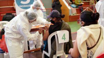 Salud: El 47,6% de la población vacunable de Bolivia ya fue inmunizada