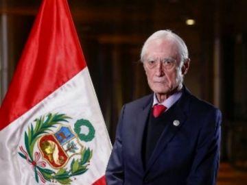 Renuncia el canciller de Perú, la primera baja en el gabinete de Castillo