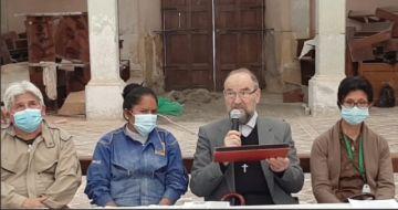 Lanzan campaña para restaurar histórico templo de Camargo