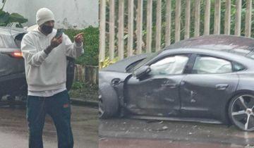 El peruano Paolo Guerrero sufre accidente automovilístico en Brasil