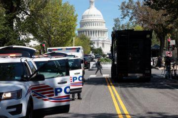 Hombre que amenazó con detonar bomba cerca del Capitolio se entregó a la policía