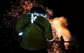 Tres incendios forestales aquejan a Roboré, que se quedó sin recursos para combatirlos