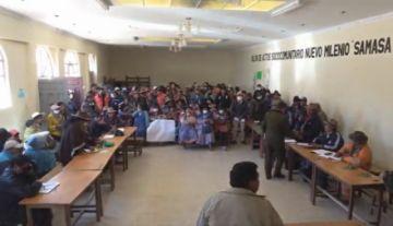 Bloqueo en la carretera Potosí-Sucre ingresa a un cuarto intermedio