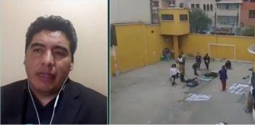 """Régimen Penitenciario: La protesta en cárceles crece por """"la victimización"""" de Áñez"""