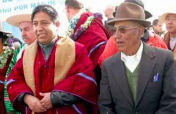 Fallece el padre del vicepresidente David Choquehuanca y se multiplican las condolencias