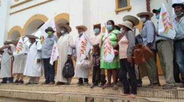 Indígenas benianos parten en marcha hacia Santa Cruz en defensa de territorios