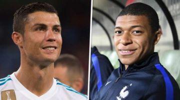 """Kylian Mbappé y Cristiano Ronaldo animan los últimos días del """"mercato"""""""