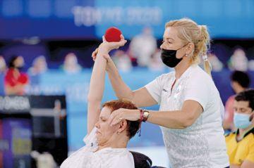 La boccia, una petanca estratégica en los Paralímpicos