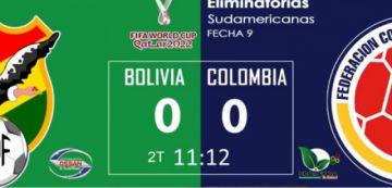En vivo: Sigue el partido Bolivia Vs Colombia