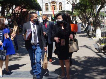 Embajadoras de México y Paraguay cumplen visita oficial en Sucre