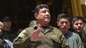 Dictan baja definitiva de Yuri Calderón, general que comandó la Policía durante crisis de 2019