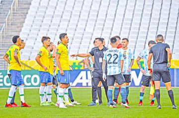Clásico Brasil-Argentina, un bochorno mundial