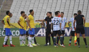 El comunicado de la FIFA sobre el clásico Brasil-Argentina