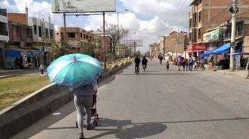 Sucre: Las temperaturas máximas de los primeros días de septiembre se acercan al récord del año