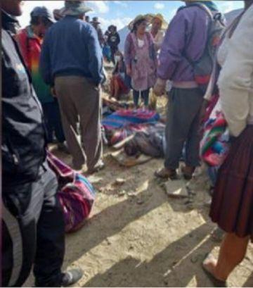 Un accidente de tránsito en Cochabamba deja al menos 21 muertos y varios heridos