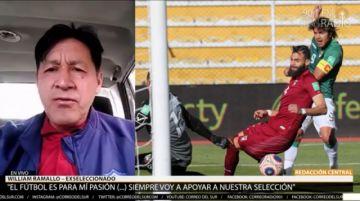 """William Ramallo: """"Nuestros jugadores están poniendo la cara"""""""