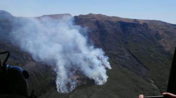 Se activan tres nuevos focos de calor en El Palmar