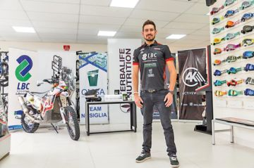 Nosiglia correrá el Dakar