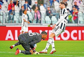 La Juventus no reacciona: empató con el Milan