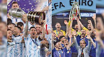 Italia y Argentina se enfrentarán en junio de 2022