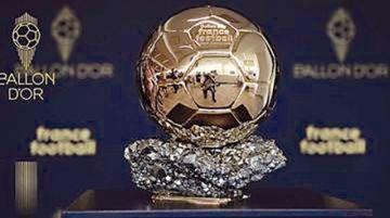 El Balón de Oro será entregado el 29 de noviembre