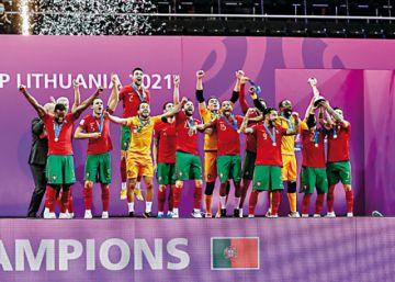 Portugal, ¡campeão!