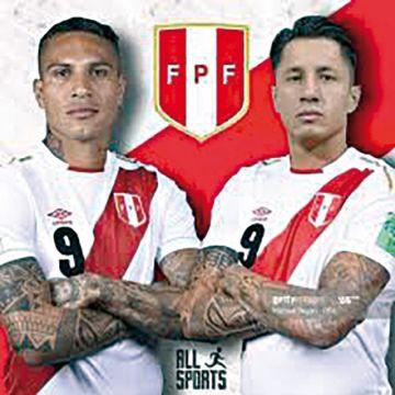Con Guerrero y Lapadula, Perú apunta a Chile